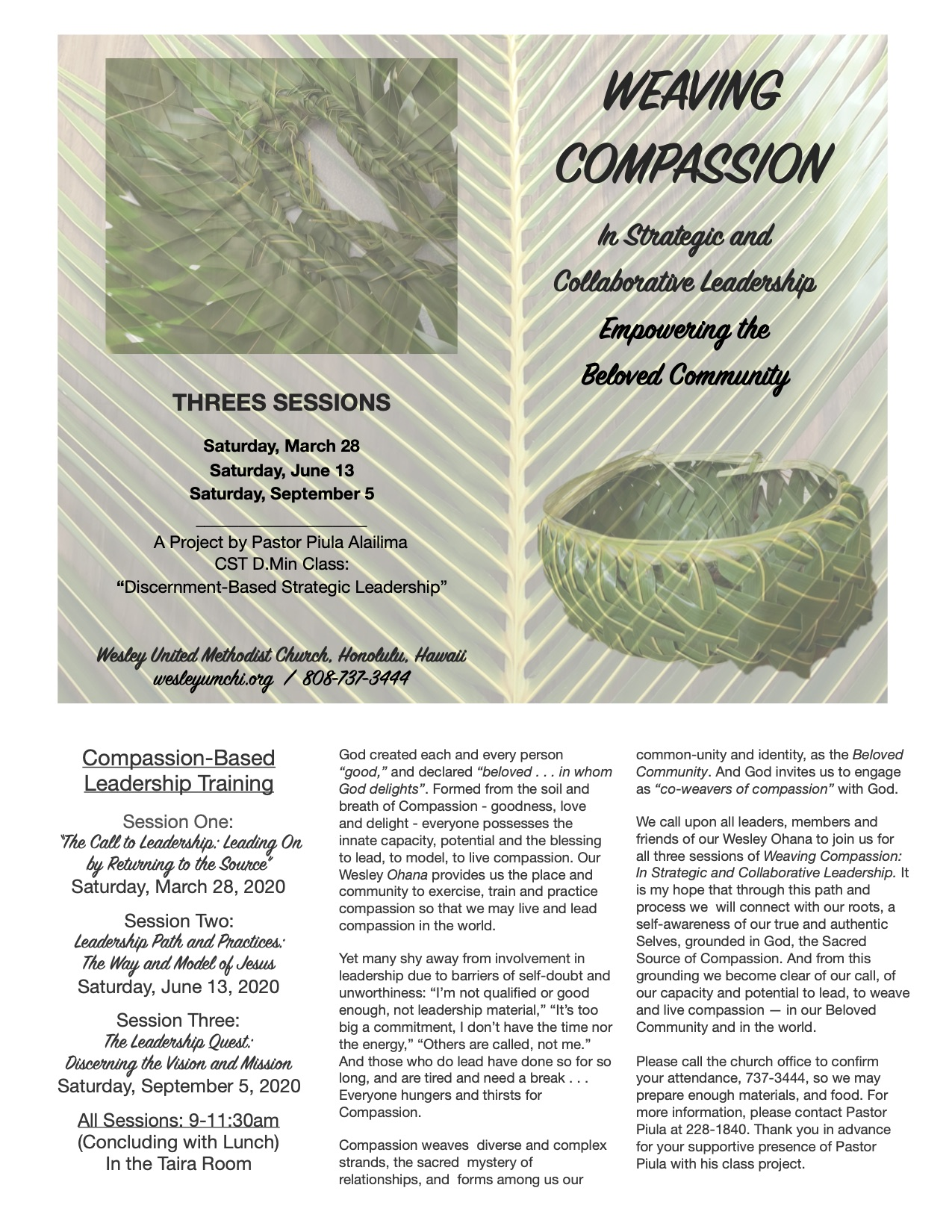 Weaving Compassion